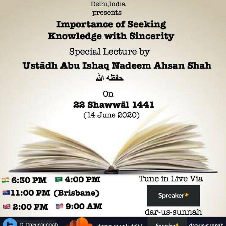 Importance of seeking knowledge