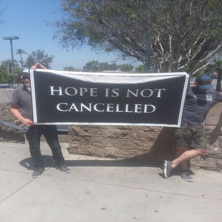 Freedom horns blow in Redlands, CA