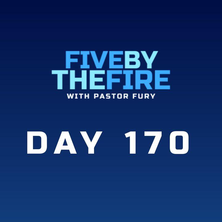 Day 170 - Jesus' Emancipation Proclamation