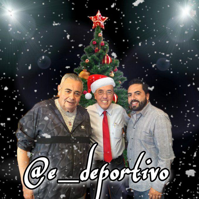 Nos llego el espíritu decembrino a Espacio Deportivo de la Tarde 20 de diciembre 2020