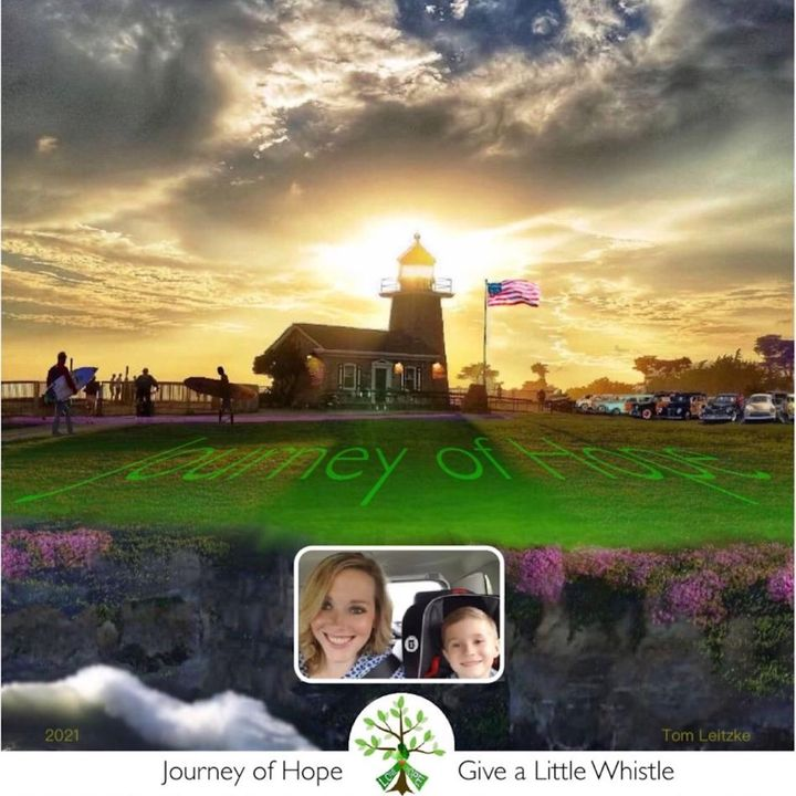 Journey of Hope-Finale: From the Cloud, Riding with Sarah - 7:3:21, 3.06 PM