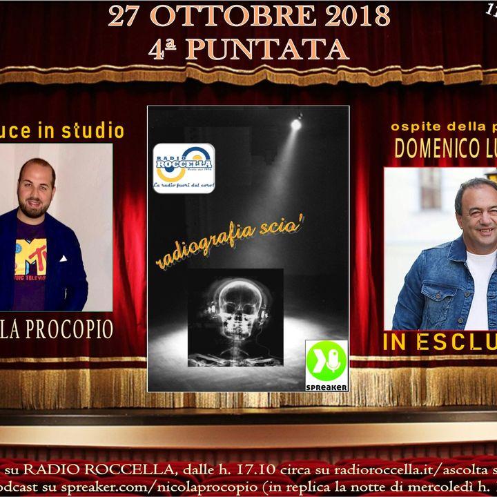 Radiografia Scio' - N.04 del 27-10-2018