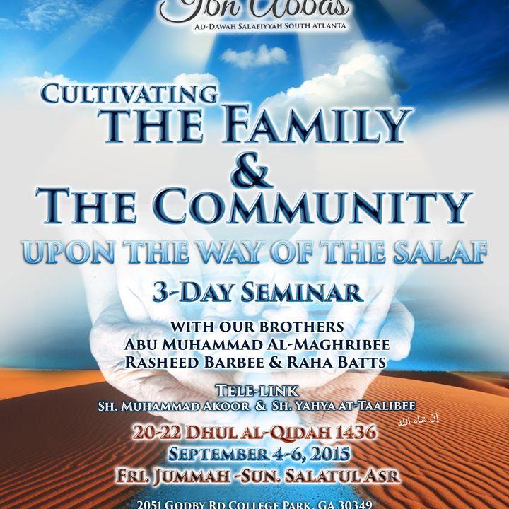 Cultivating Family & Community Seminar