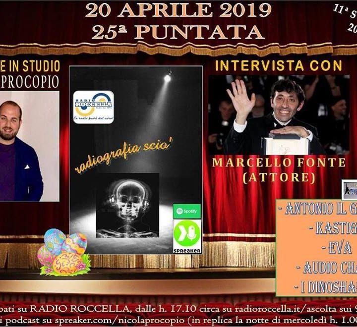 Radiografia Scio' - N.25 del 20-04-2019