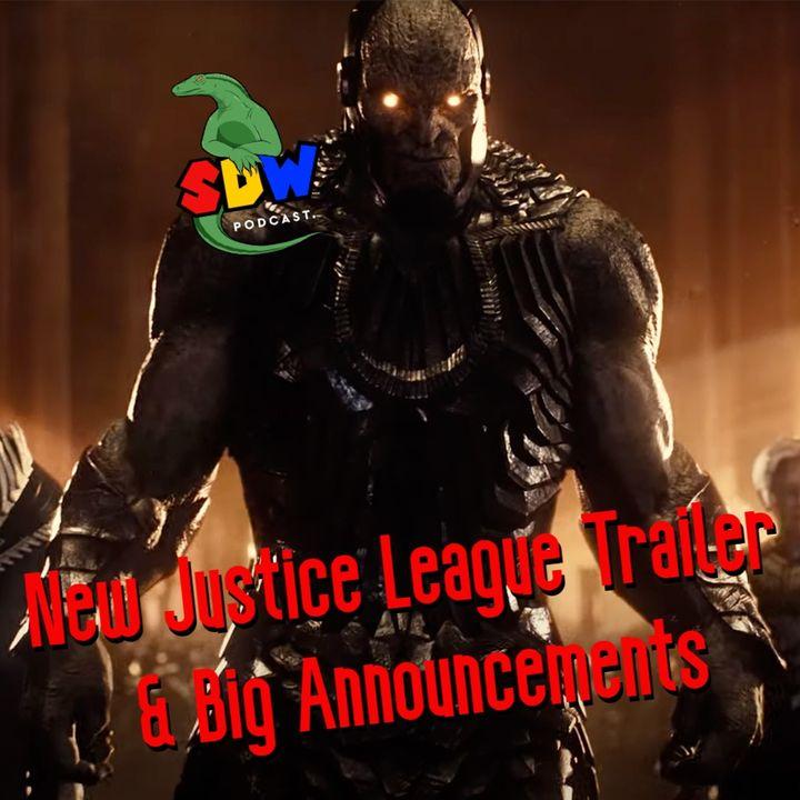 New Justice League Trailer  & Big Announcements