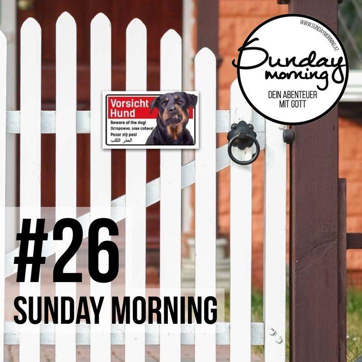 #26 - Von Wachhunden, Alarmanlagen & offenen Türen - Wenn du raus gehst, sperr zu