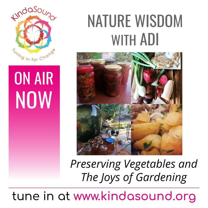 Food Preservation Recipes and the Joys of Gardening   Nature Wisdom with Adi