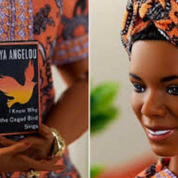 Good News: Mattel Releases Maya Angelou Barbie Doll