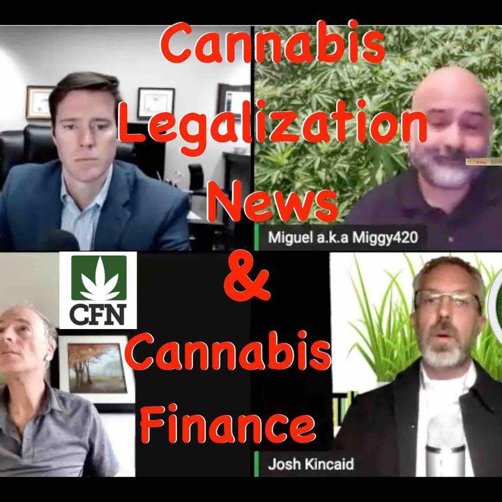 Cannabis Financial Network, Cannabis Legalization News