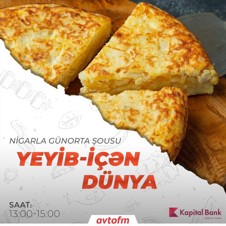 Tortilla de patatas   Yeyib-içən dünya #40