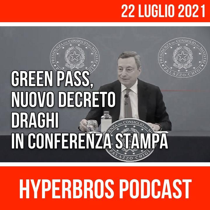 Nuovo decreto, conferenza stampa di Mario Draghi con i ministri Speranza e Cartabia