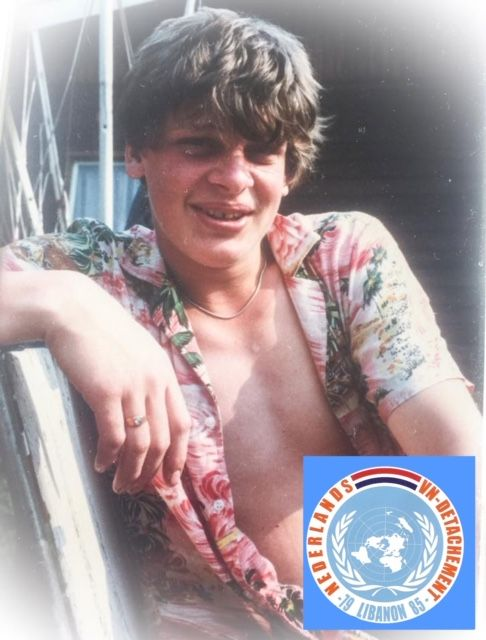 Jan-Hendrik Hoiting, Brother in arms,  geboren 22 juni 1964- overleden op 5 oktober 1983 te Scribbin (Zuid Libanon)