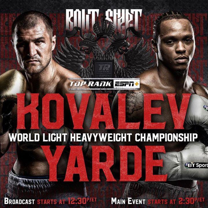 ☎️Anthony Yarde vs Sergey Kovalev Live Fight Chat💭 🇬🇧 vs 🇷🇺