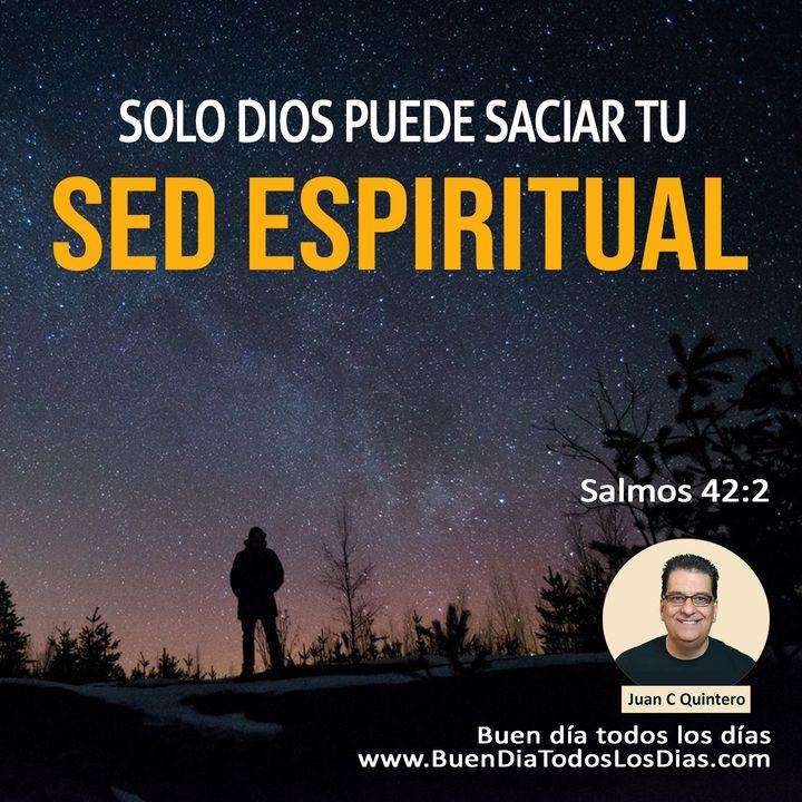 Saciando la sed espiritual