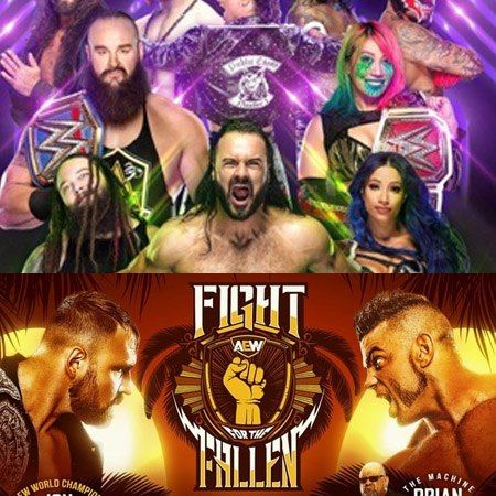TV Party Tonight: The Horror Show at Extreme Rules & Fight For the Fallen (2020)