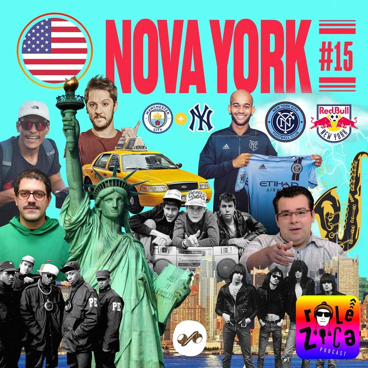 Nova York: da ilha ao Bronx, do punk ao rap, de Sandy a Lebron