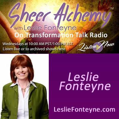 Sheer Alchemy! w/ Leslie Fonteyne