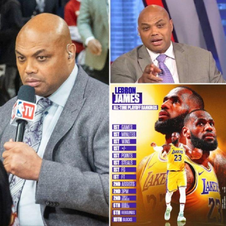 "Episode 17- ""REAL SPORTS TIME PODCAST""w D-MARL| CHARLES BARKLEY TALKS LEBRON JAMES BEING THE GOAT| #charlesbarkley #lebronjames #TNT #NBA"