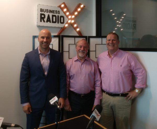 Nate Smith with BIP Wealth, Gordon Morse with Morse Corporate Advisors and Mitch Hughes with ViZZ