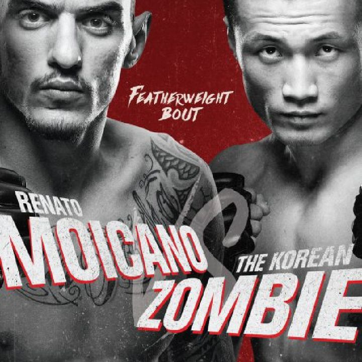 Preview Of The UFCONESPN Card Headlined By Renato Moicano -.Chang Sung Jung K