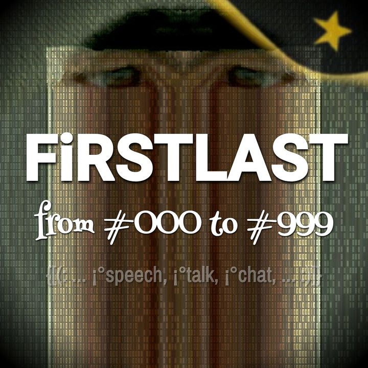 FiRSTLAST from #000 to #999