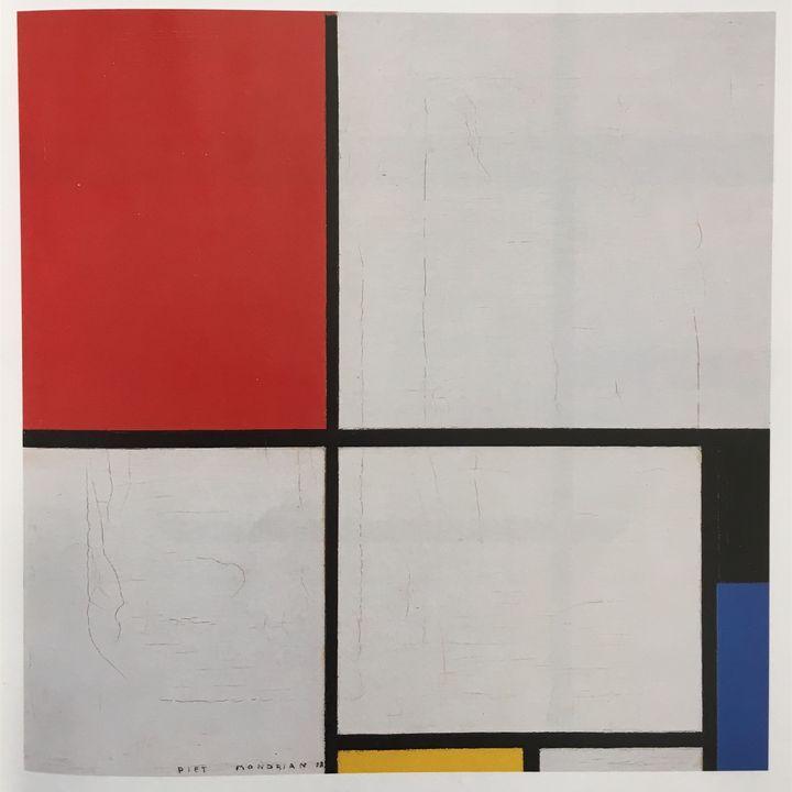#2 L'armonia e l'equilibrio secondo Piet Mondrian
