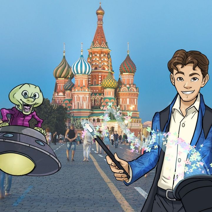 Dai che viaggiamo! Andiamo a Mosca in Russia!