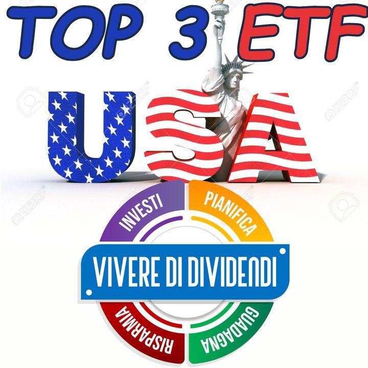 TOP 3 ETF del Mercato USA