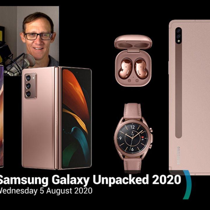 News 360: Samsung Galaxy Unpacked 2020 - Galaxy Note20, Galaxy Z Fold2, Galaxy Watch3