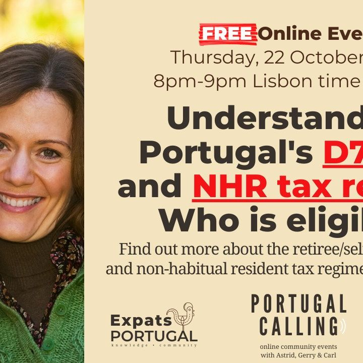 Portugal Calling: Understanding Portugal's D7 Visa and NHR tax regime