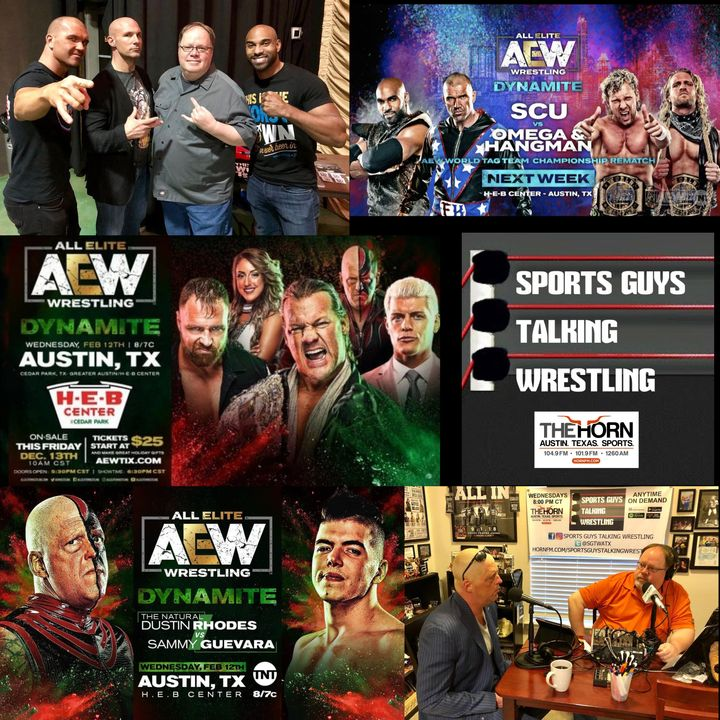 SGTW Special Preview AEW Dynamite in Austin 2-11-2020