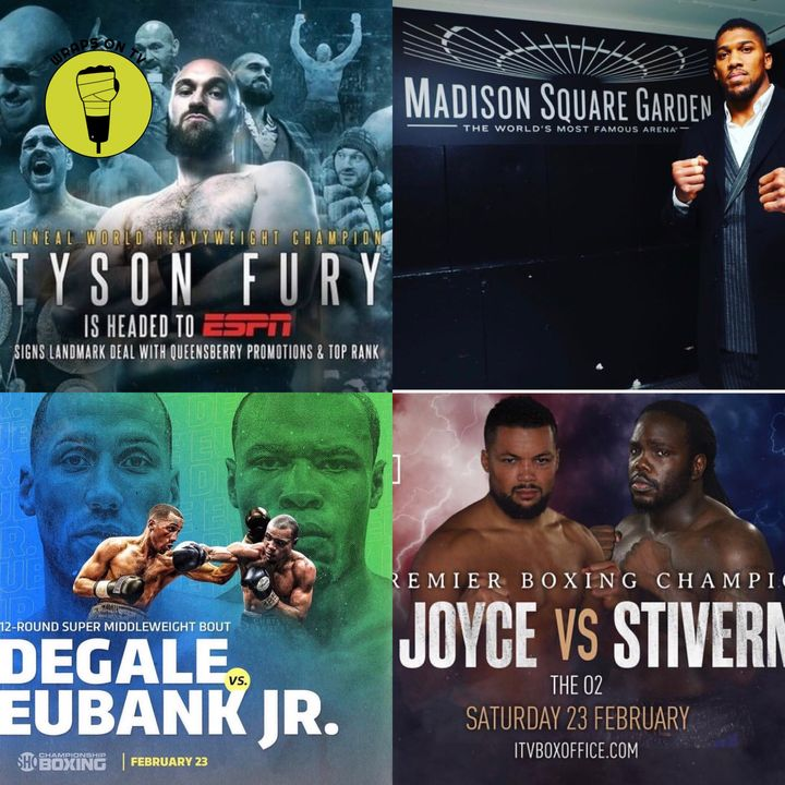 Degale v Eubank Jr preview!! Fury signs with Top Rank & AJ v Miller press conference