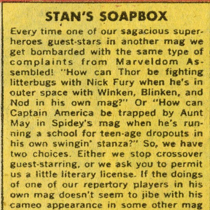 Ep 93 - Stan Lee's Soapbox