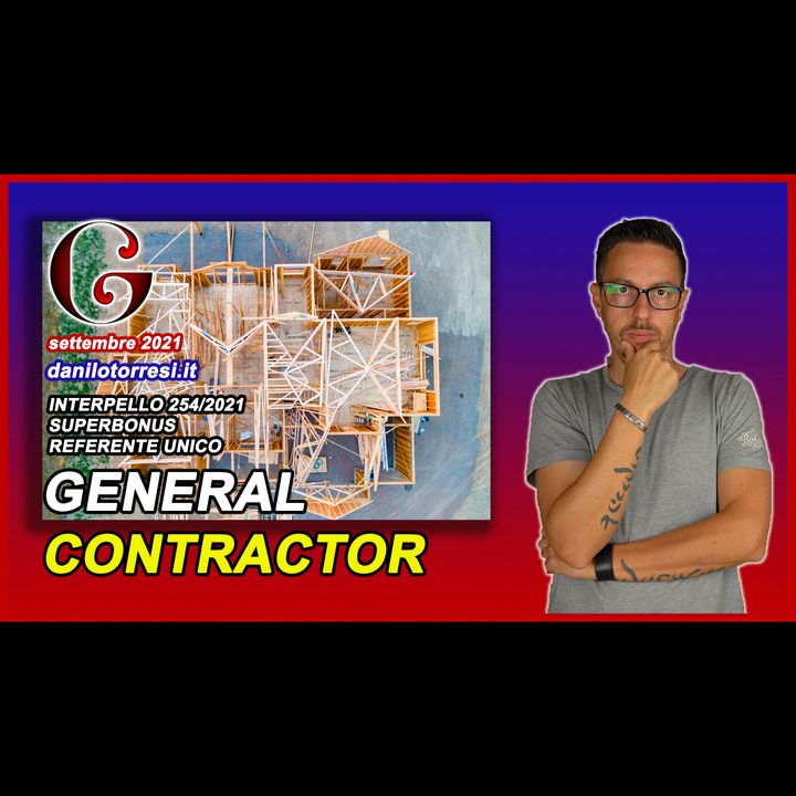 SUPERBONUS 110 le spese del General Contractor