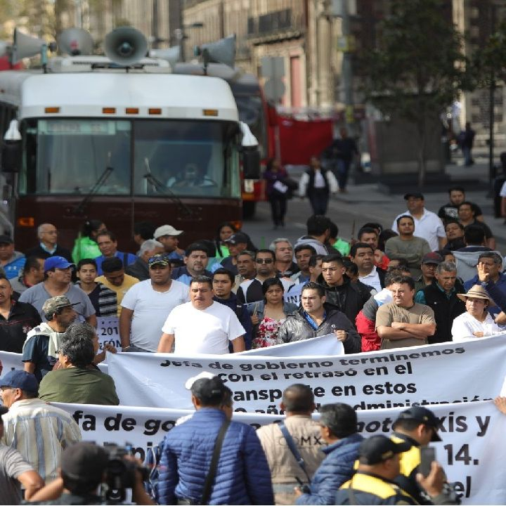 Transportistas alistan manifestaciones y bloqueos