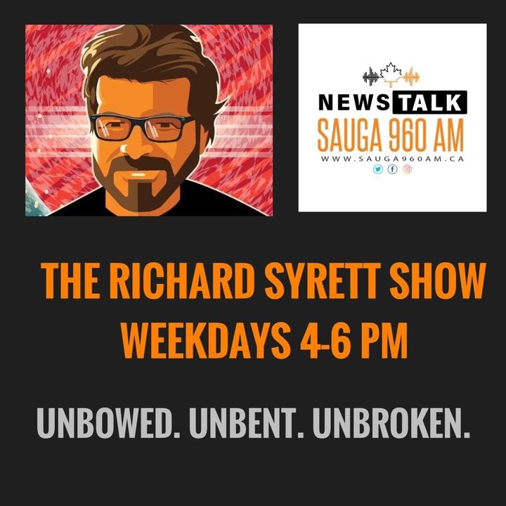 The Richard Syrett Show - Mar 15, 2021 - Communist Chinese Spies In Canada, Health/Medical, The Bob McCown Show & Stop The Vaxxport