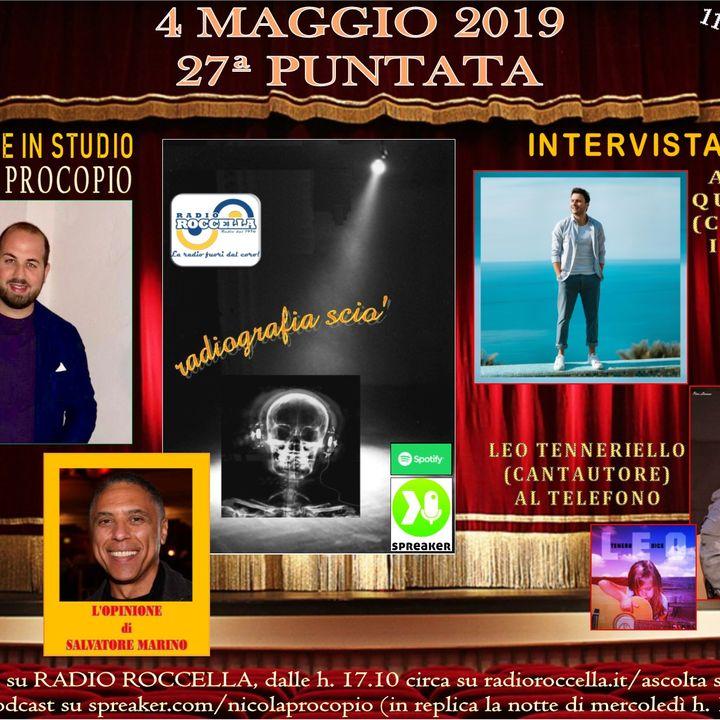 Radiografia Scio' - N.27 del 04-05-2019