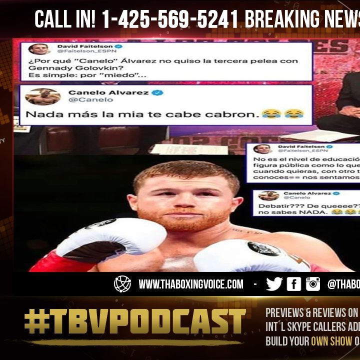 "☎️Canelo LOL🤣@ Lomachenko & Crawford P4P Above Him, ""It's About The Quality Of Opponents""❗️"