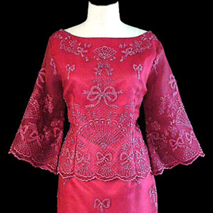 Filipiniana Formal Gowns