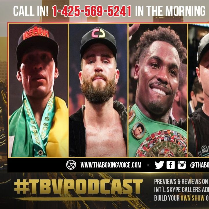 ☎️Jermall Charlo: Benavidez a BOY👦🏻Plant to SMALL❗️GGG too OLD😱Andrade Been Drop🤷🏽♂️I BEAT Canelo🤑