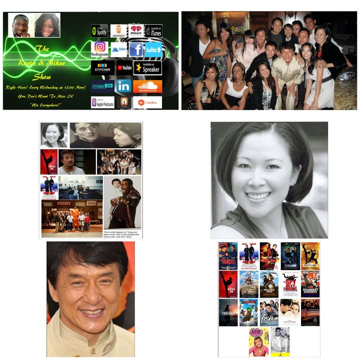 The Kevin & Nikee Show - Diana Weng - Jackie Chan's Dialogue Coach, Voice-over, Audio Commercial, Audio Digital Recordings, Film/TV Actress