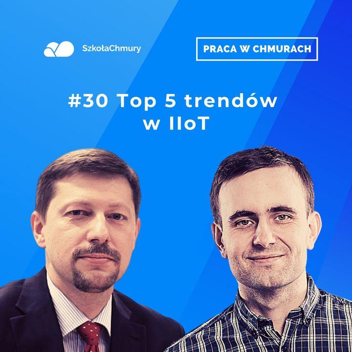 Odc. #30 Top 5 trendów na 2021 w IIoT.  Gość: Artur Czerwiński