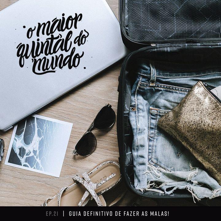 Arrumando as malas para viajar (com Marina Santa Helena) | ep. 21