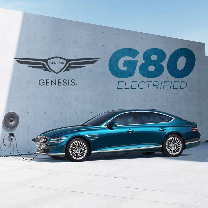 "66. Genesis ""Electrified"" G80 Reveal | Shanghai Auto Show"