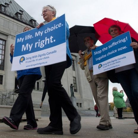 Canada legalizes Doctor Assisted Suicide