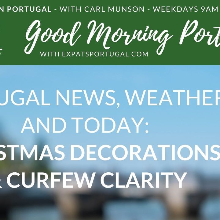 Christmas decorations and curfew clarity, nearly