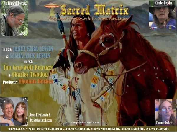 Jim Graywolf Petruzzi & Chief Charles Twodog ~ 06/14/20 ~ Sacred Matrix ~ Hosts