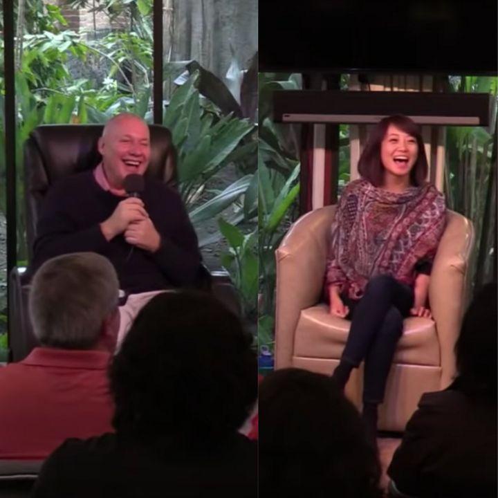 Sesión 8 Clausura del Retiro La Luz en Ti con David Hoffmeister y Frances Xu / Session 8 Closing of The Light in You Retreat