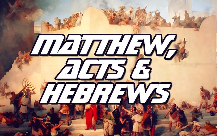 NTEB RADIO BIBLE STUDY: How To Understand Matthew, Acts And Hebrews As The Three Transitional Books In Your King James Bible