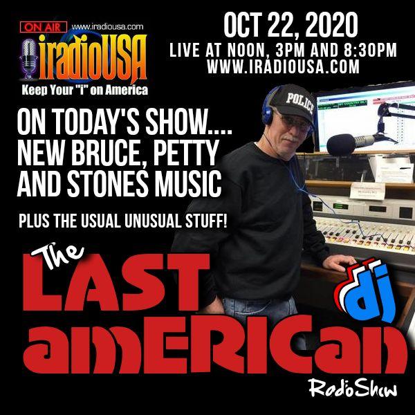 THE LAST AMERICAN DJ RADIO SHOW 102220